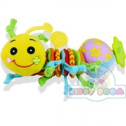 Дрожащая игрушка-подвеска Счастливая гусеничка BIBA TOYS 027GD