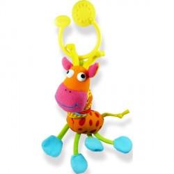Дрожащая игрушка-подвеска Счастливый жираф BIBA TOYS 033JF