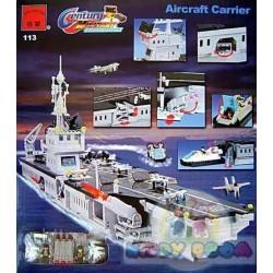 Конструктор Brick корабль Авианосец 990 деталей