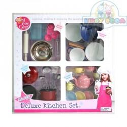 Детский кухонный набор Делюкс