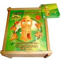 Деревянный конструктор Охранная Башня