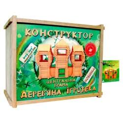 Детский деревянный конструктор Центральные ворота