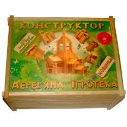 Деревянный конструктор Храм