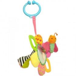 Мультиактивная игрушка-погремушка Любимый цветочек (002GD) Biba Toys