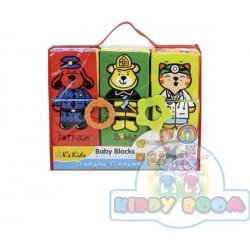 Развивающая игрушка Ks Kids Кубики для малышей с грызунами (10622)