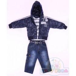 Комплект куртка, гольф, джинсы Bombili 2942