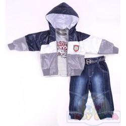 Комплект куртка, гольф, джинсы Bombili 2937