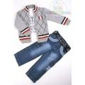 Комплект кофта, гольф, джинсы Bombili 2967