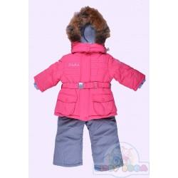 Комплект куртка, полукомбинезон на овчине Baby Line