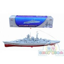 Радиоуправляемый крейсер HT-3827-  (Battleship) Heng Tai  1:360