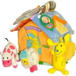 Развивающий мягкий активный домик Счастливая ферма (719BS) Biba Toys