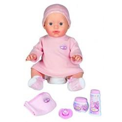 Интерактивная кукла Baby Annabell - Нежная малышка (42 см, с аксессуарами и звуком) Zapf 790618