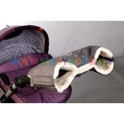 Меховая муфта для рук на коляску и санки Baby Breeze 0315