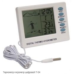 Термометр-гигрометр цифровой Стеклоприбор (T-04)