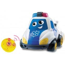 Машинка музыкальная с пультом  Полиция Babybaby 03271