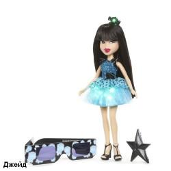 Кукла BRATZ серия Огни диско  (с 3D-очками)