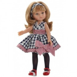 Кукла подружка Карла в клетчатом платье Paola Reina 2013 04587