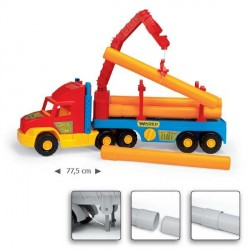 Строительный грузовик