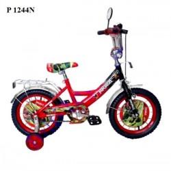 Детский велосипед  двухколесный 12 дюймов  P 1244N, 1245S, 1247M