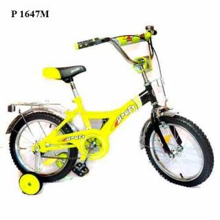 Детский велосипед двухколесный 16 дюймов P 1647M