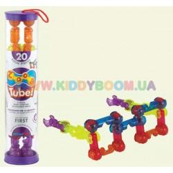 Конструктор Zoob Tube 20 с блесточками 11022