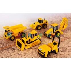 Игровой набор мини-техника CAT 5 шт в наборе Toy State 34601