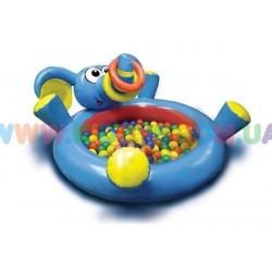 Сухой бассейн с шарами