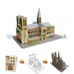 Трехмерный конструктор CubicFun Собор Парижской Богоматери C02054