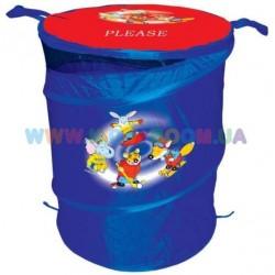 Бочка для игрушек синяя Devik Play ТО303С