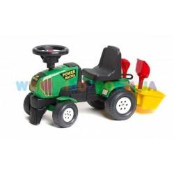 Трактор-каталка Power Master с прицепом Falk 1013A, 1014A