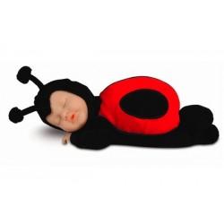 Кукла-младенец спящая  Божья коровка 23см (579111-AG) Anne Geddes