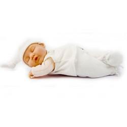 Кукла-младенец спящая в белом костюмчике 23см (579132-AG) Anne Geddes