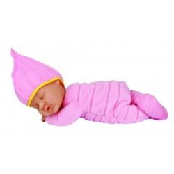Кукла-младенец спящая в розовом костюмчике 23см (579133-AG) Anne Geddes
