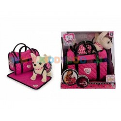 Собачка Чихуахуа Chi Chi Love 5899700 Розовая мечта с ковриком и сумочкой