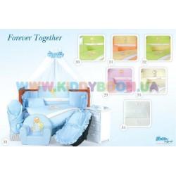 Постельный комплект Forever Together 7 эл. Tuttolina