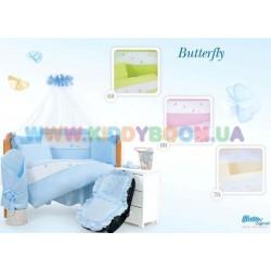 Постельный комплект Butterfly 7 эл. Tuttolina