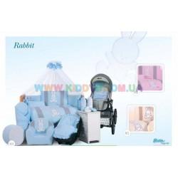 Постельный комплект Rabbit 7 эл. Tuttolina