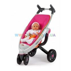 Коляска для кукол трехколесная Baby Сonfort Smoby 550091