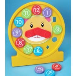 Обучающая мозаика-пазлы Часы Fun Time 5064FT