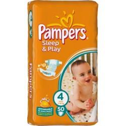 Подгузники Pampers Sleep & Play 4 maxi (7-18 кг) 50 шт