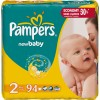Подгузники Pampers  New Baby 2 mini  (3-6 кг)  94 шт