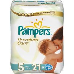 Подгузники Pampers Premium Care 5 Junior (11-25 к)  21 шт
