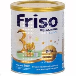 Сухой молочный напиток Friso Фрисолак 3 400 гр.