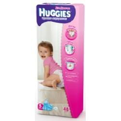 Трусики-подгузники для девочки Huggies Little Walkers 5 (11-25 кг) 48 шт.