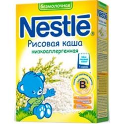 Каша безмолочная Nestle рисовая каша (с 4 мес.) 200 гр.