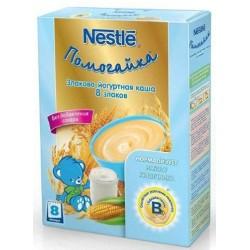 Каша злаково-йогуртная Nestle 8 злаков (с 8 мес.) 200 гр.
