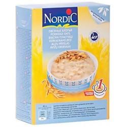Каша безмолочная Nordic овсяные хлопья (с 6 мес.) 500 гр