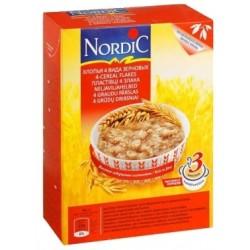 Каша безмолочная Nordic хлопья 4-х зерновых (с 12 мес.) 600 гр.