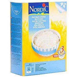 Каша безмолочная Nordic рисовые хлопья (с 6 мес.) 800 гр.