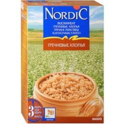 Каша безмолочная Nordic гречневые хлопья (с 12 мес.) 550 гр.